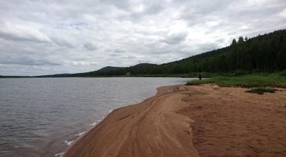 Ratasjärven rannalla